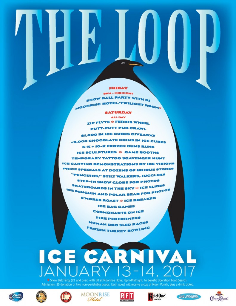 2017 Loop Ice Carnival Map - Front